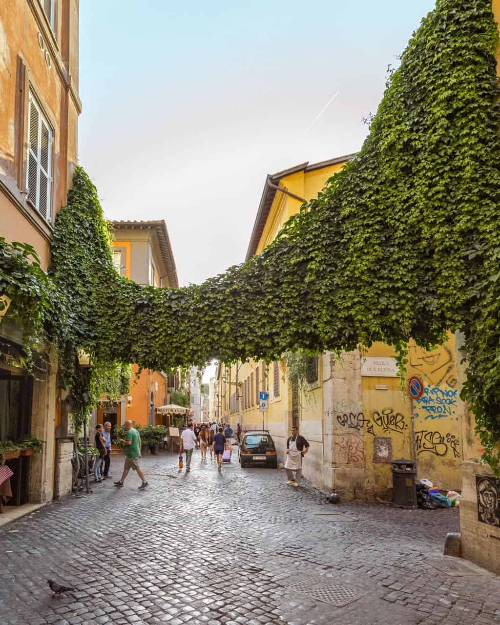 Trastevere Rome neighborhood