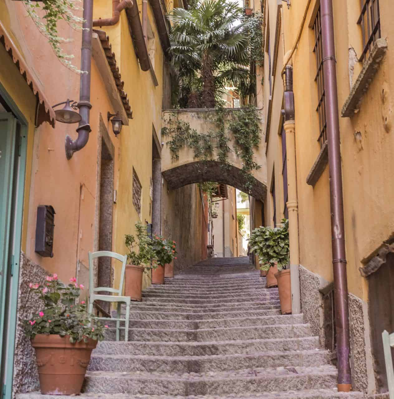 Bellagio Italy alleyway