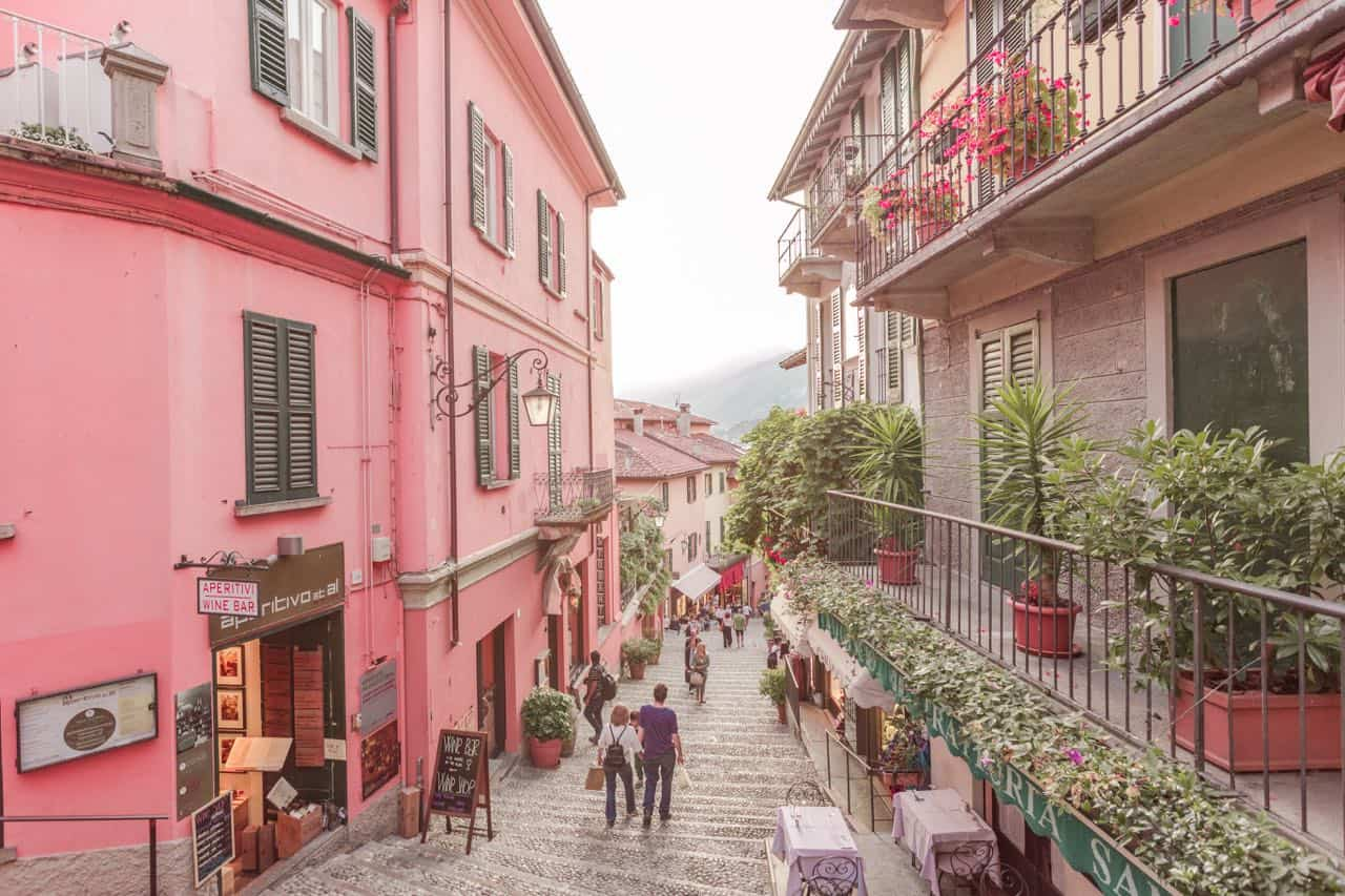 Bellagio Italy street