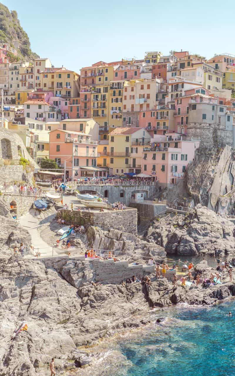 Manarola city view