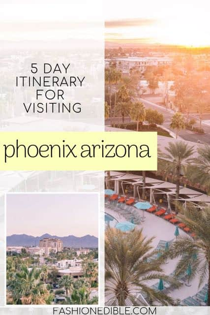 itinerary for Phoenix Arizona | what to see in Phoenix Arizona | 5 days in Phoenix | Phoenix Itinerary