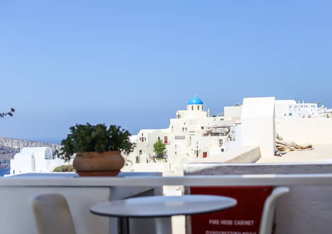 best restaurants in Santorini Greece