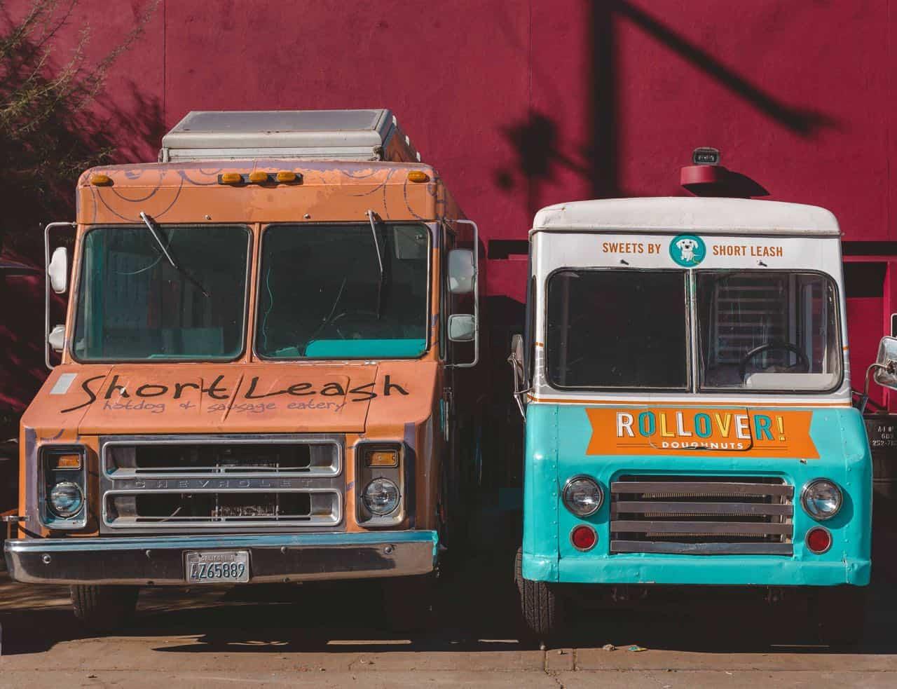 donut truck in Phoenix A