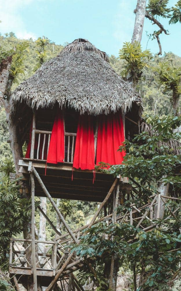 reasons to stay at a treehouse village in the Dominican Republic vs a resort