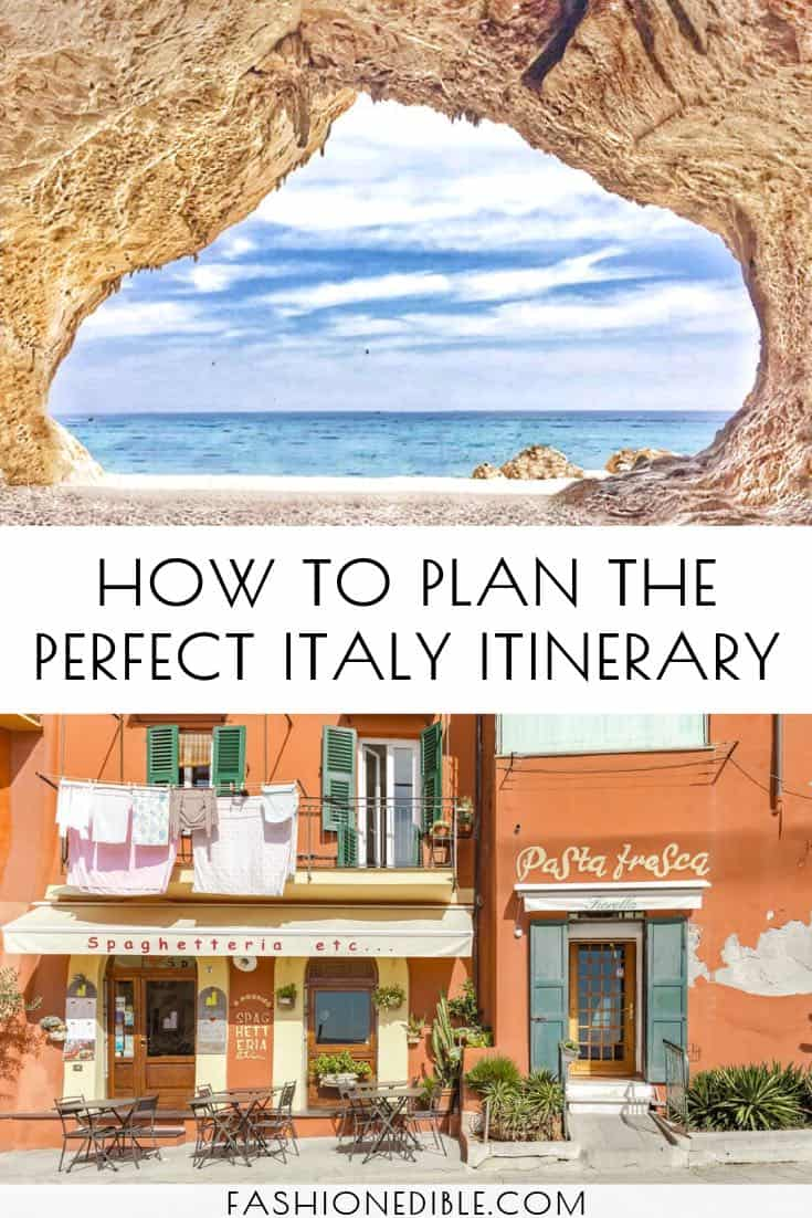 how to plan the perfect Italy Itinerary | where to visit in Italy | top Italy destinations | best itinerary for Italy