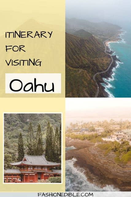 itinerary for visiting Oahu Hawaii