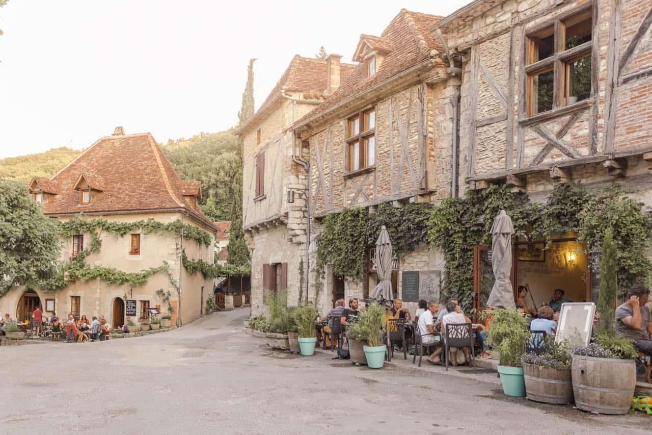 southwest France travel guide: Saint Cirque Lapopie