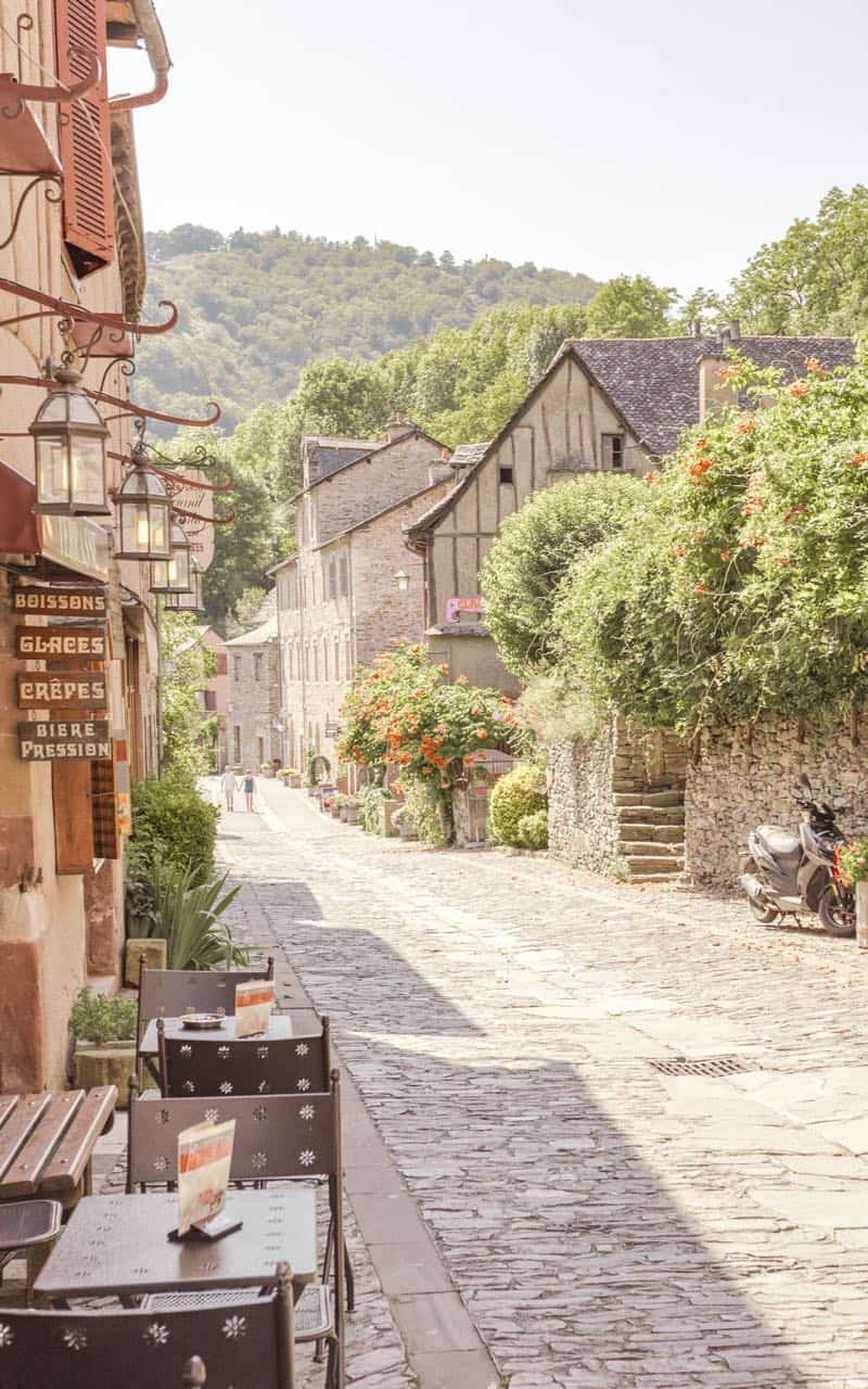 southwest France travel guide - the village of Conques