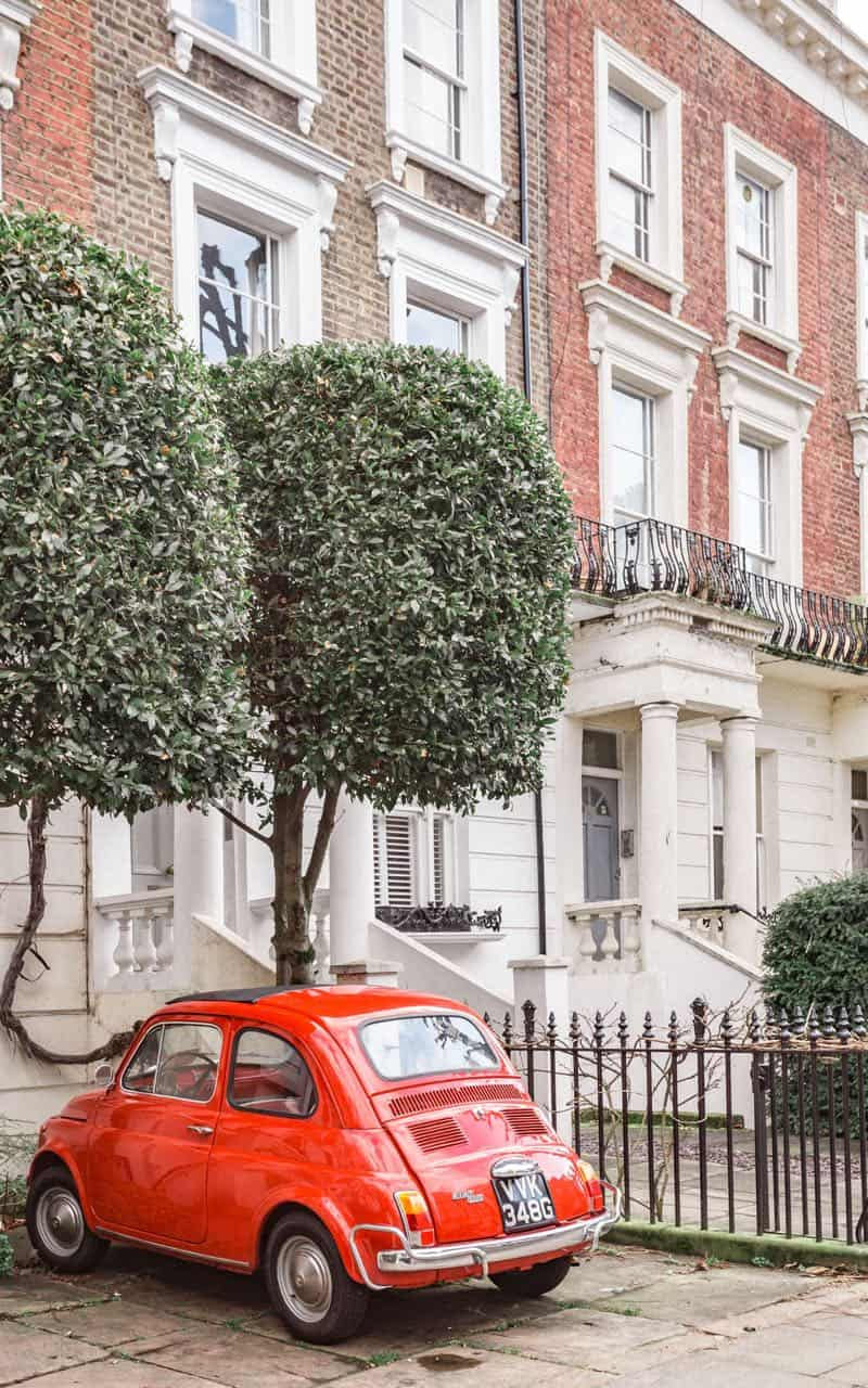 fun things to do in London: vintage car hunting