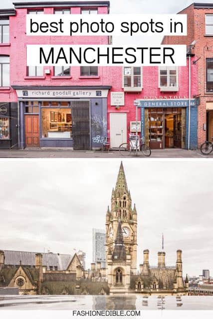 most instagrammable places in Manchester UK | where to take the best photos in Manchester England | best photo spots in Manchester | Manchester UK photography spots