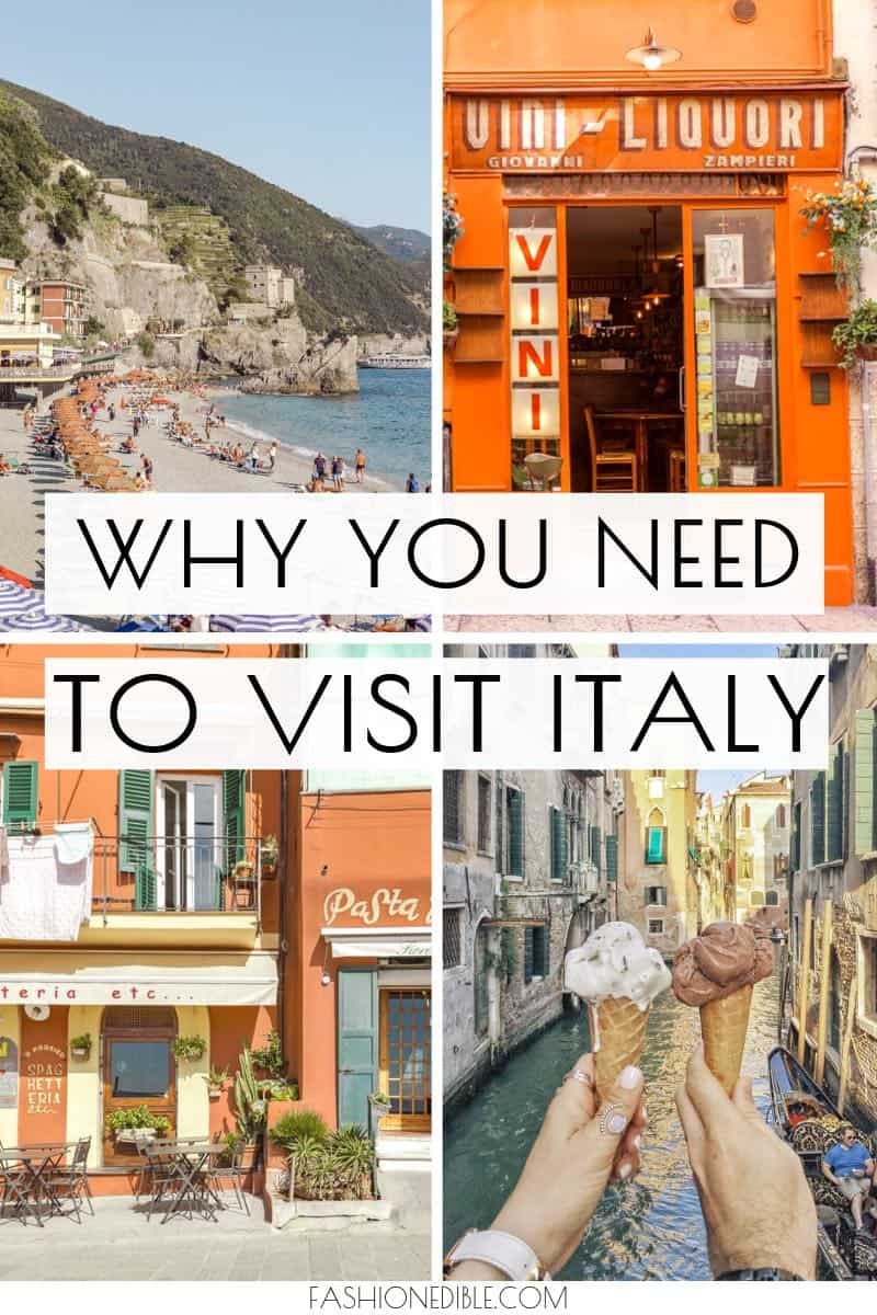 Why You Need to Visit Italy | Why Italy is the best | Why I love Italy | Why You Should Make Italy Your Next Destination | Reasons to Visit Italy