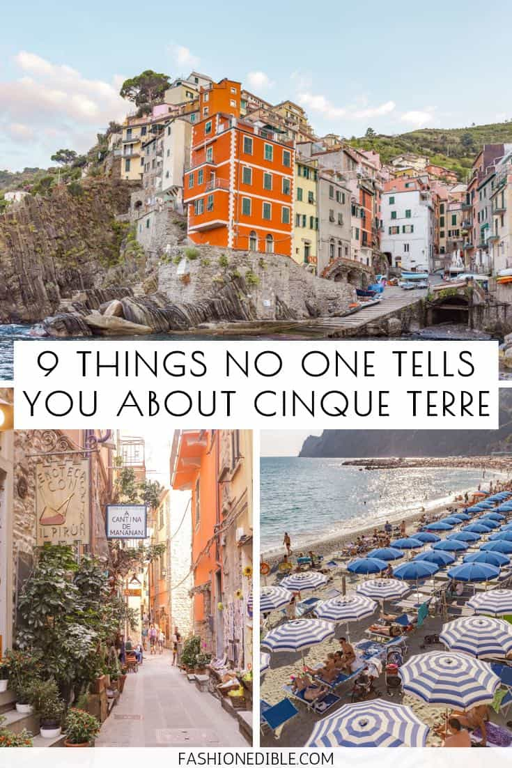 Things No One Tells You About Cinque Terre | What You Need to Know About Cinque Terre Before You Visit | Helpful Tips on Cinque Terre | Things I Hated About Cinque Terre