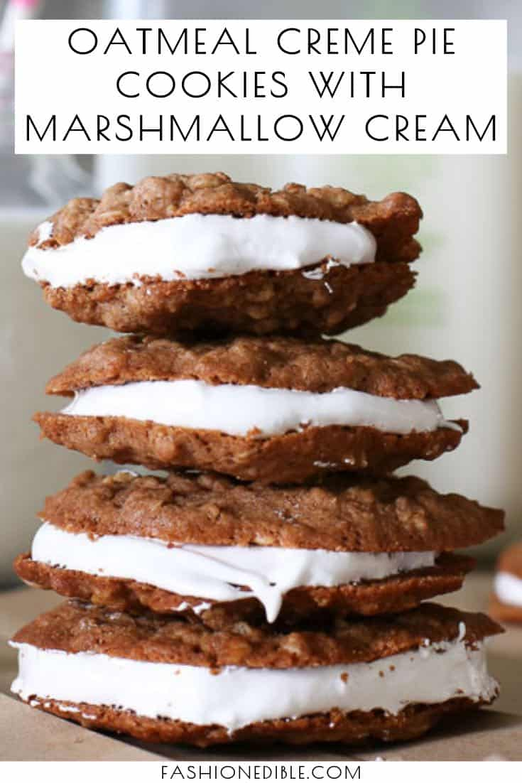 how to make oatmeal creme pies | oatmeal cream pie cookies | oatmeal creme pies