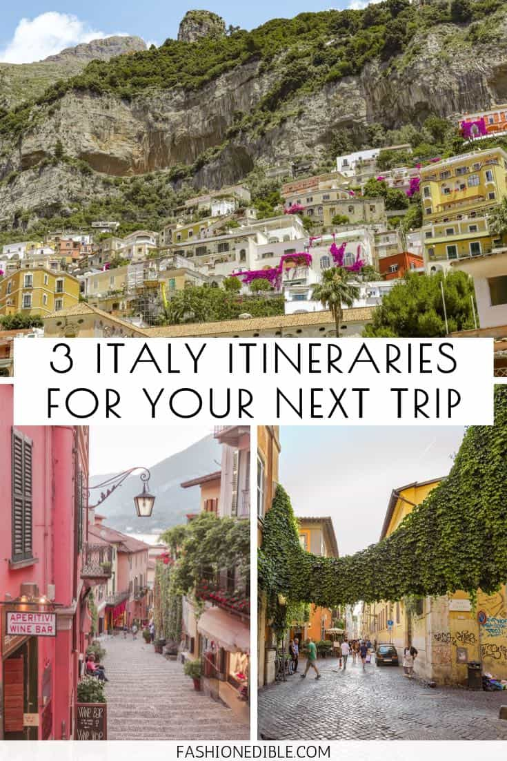 Italy Itineraries | how to spend 10 days in Italy | 10 day Italian itineraries |  10 days in Italy