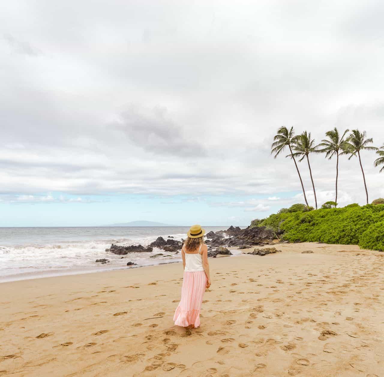 beach in front of the Fairmont Kea Lani