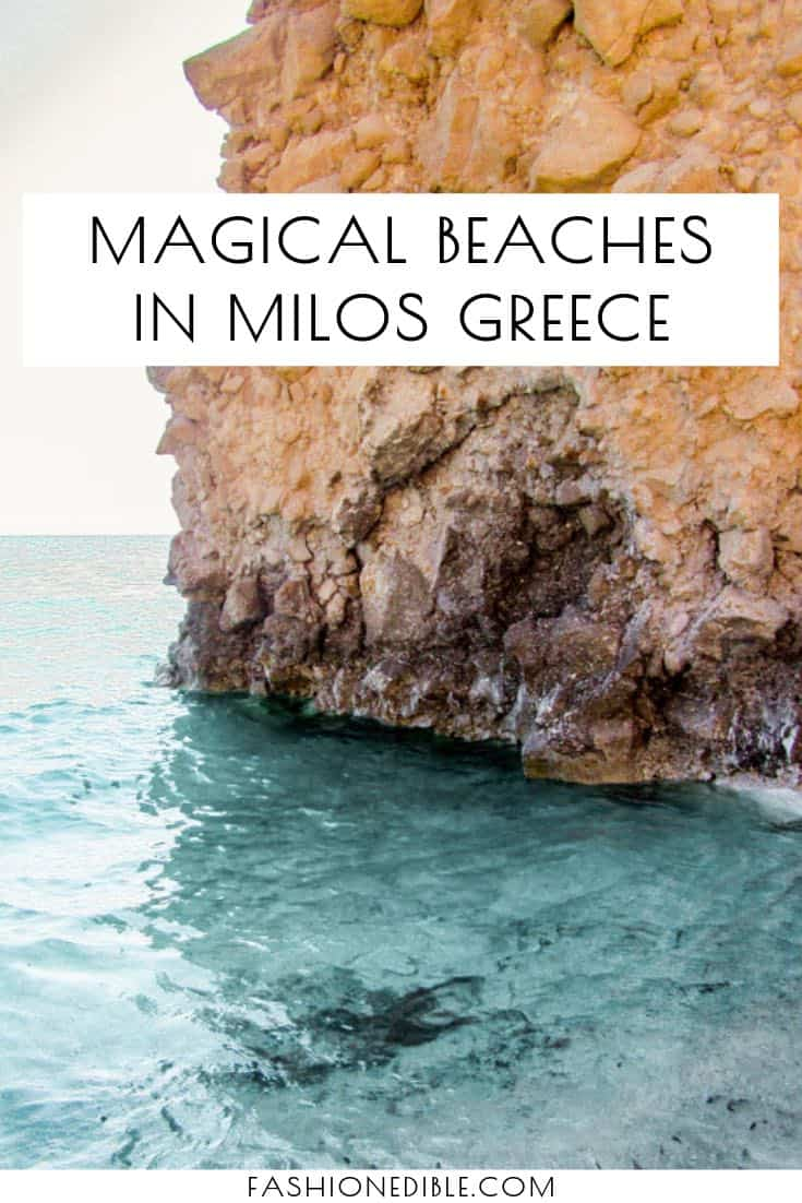 Best Beaches on Milos Greece | Most beautiful Milos Beaches | unique beaches in Milos Greece | Milos Greece beach destinations