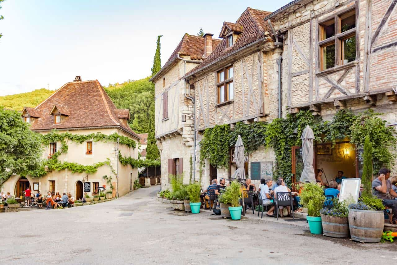 town in southwest France