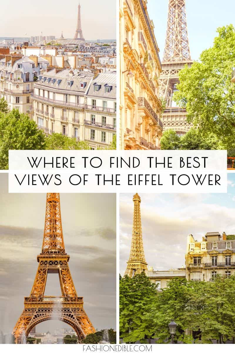 best views of the Eiffel Tower | where to find the prettiest angles of the Eiffel Tower | How to photograph the Eiffel Tower