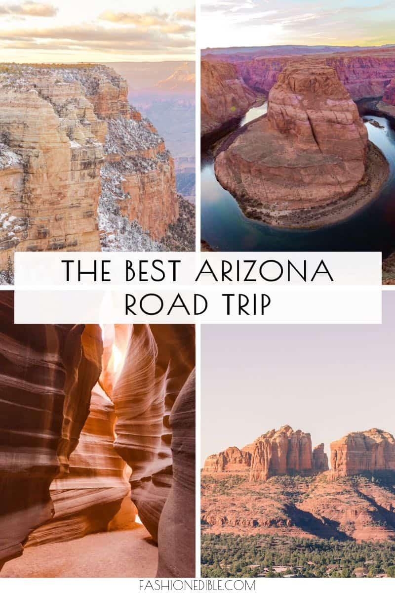 the best Arizona road trip | how to spend a week in Arizona | places to visit in Arizona | western USA road trip | winter road trip in Arizona | visiting arizona in January