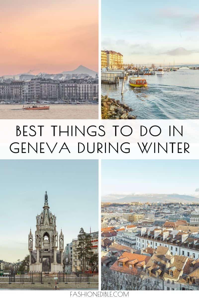 things to do in Geneva Switzerland | Winter in Geneva | Best Things to do in Geneva | Geneva Switzerland itinerary