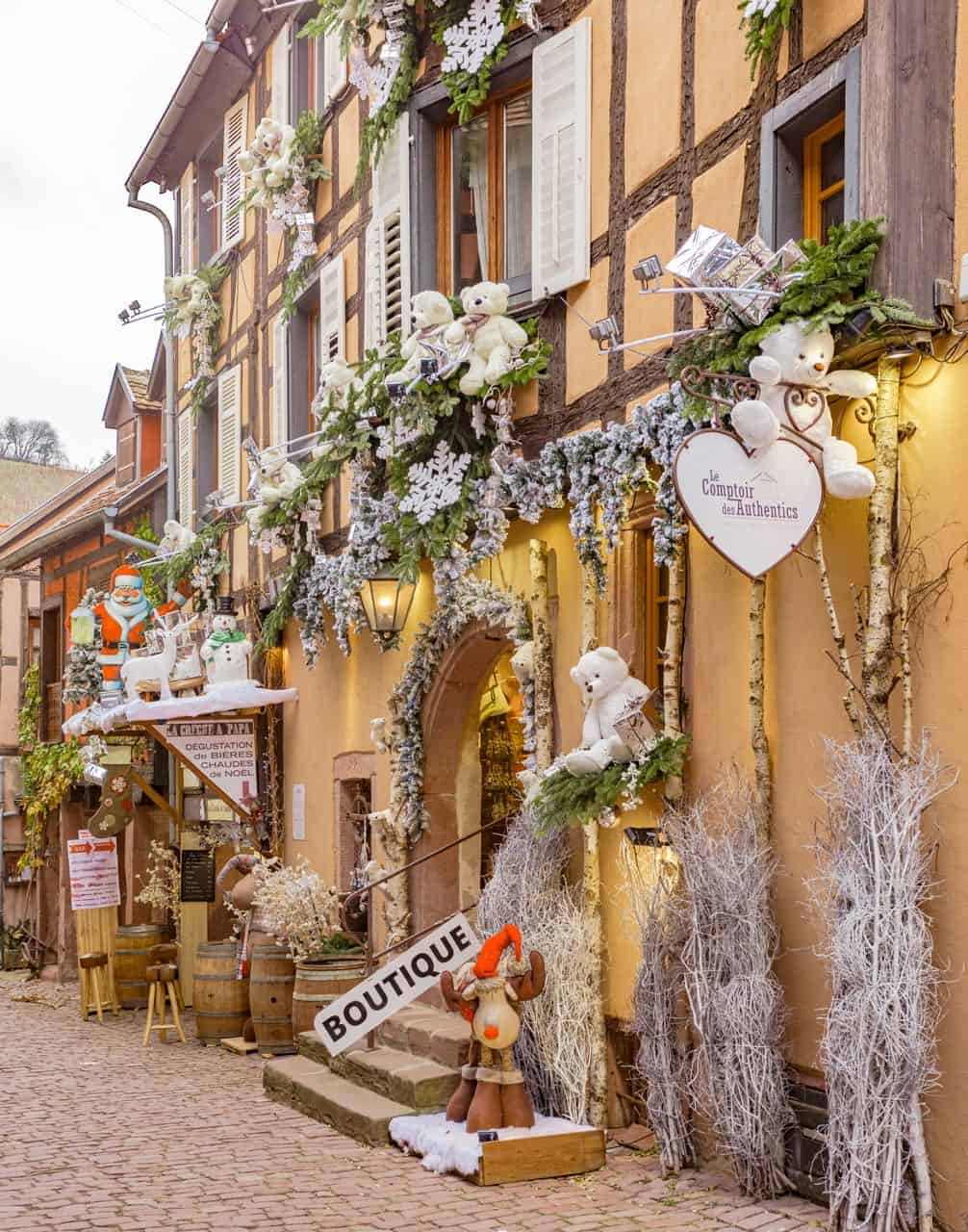 Riquewihr Christmas Decor