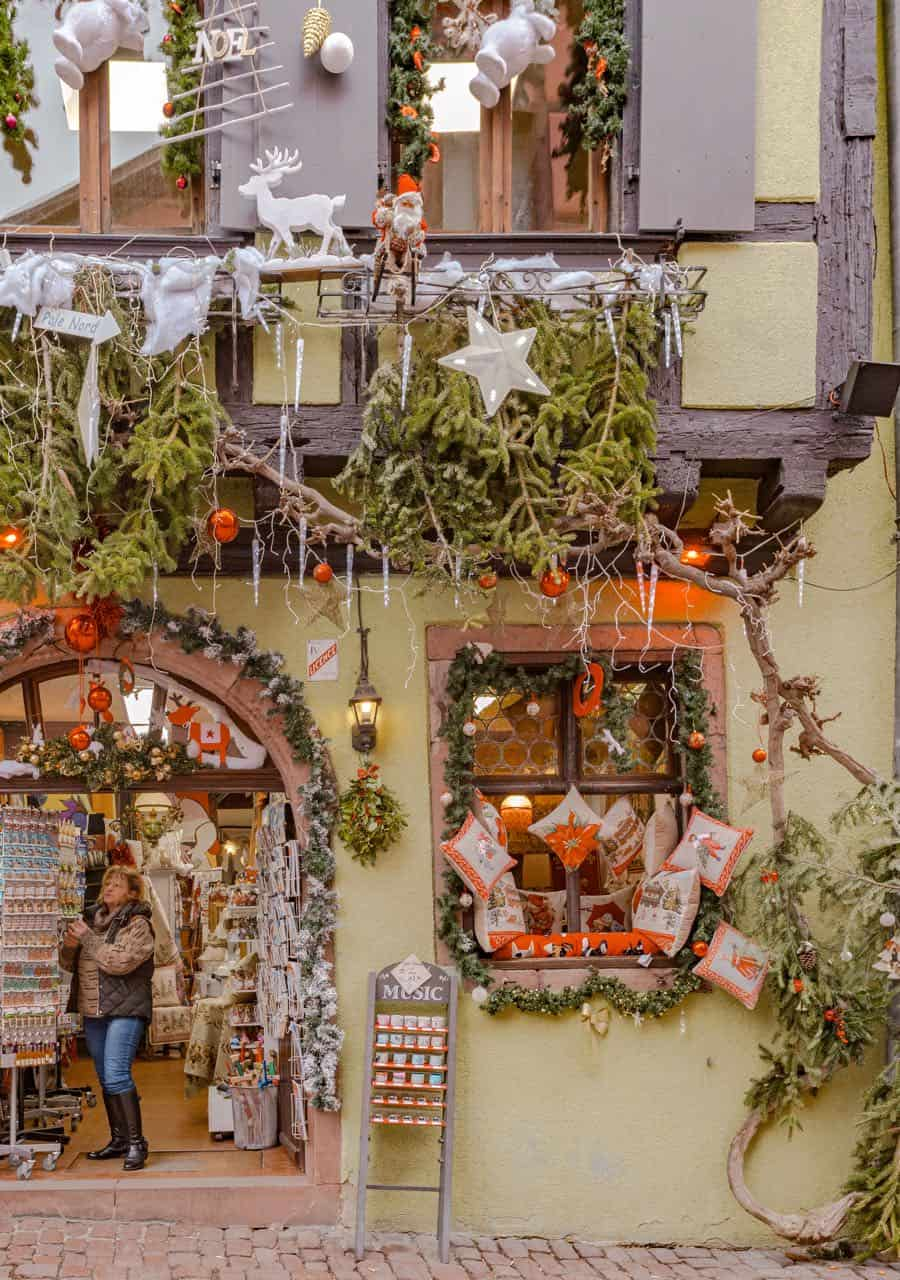 Riquewihr France Christmas Decor