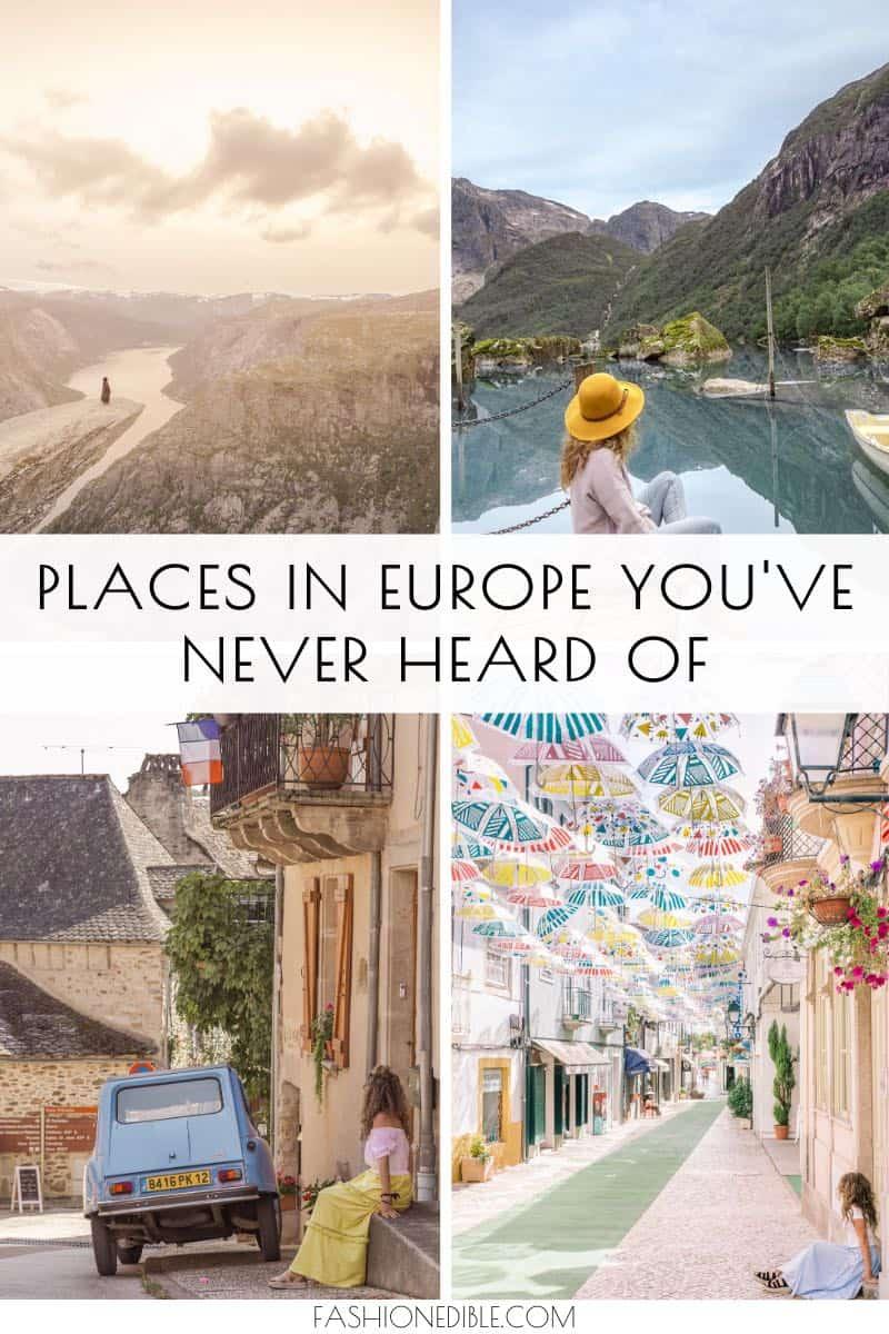 Hidden Gems in Europe   Europe's Hidden Gems   Off the beaten path Europe   Hidden towns in Europe   Non-touristy places in Europe