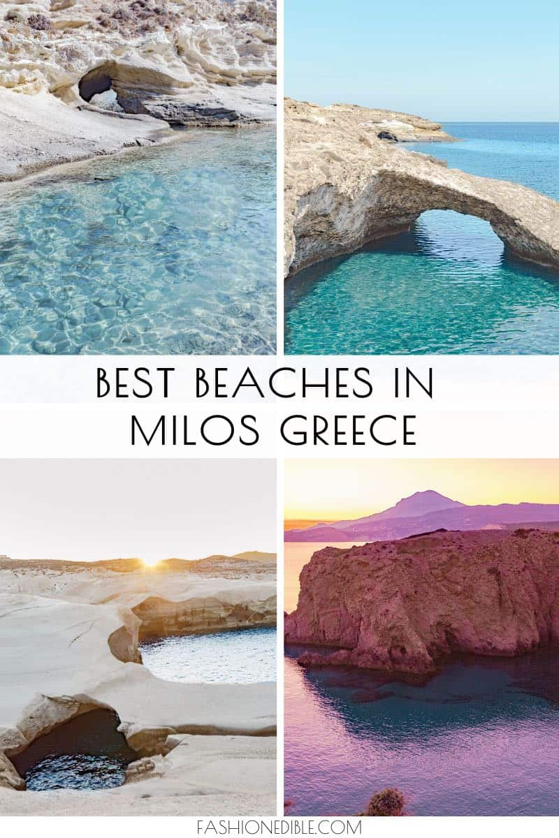 Best Beaches on Milos Greece | Most beautiful Milos Beaches | unique beaches in Milos Greece | Milos Greece beach destinations