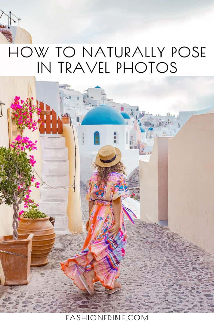 how to not look awkward in photos | how to pose in travel photos | cute poses for photos | best travel poses | tricks for posing naturally in travel photos