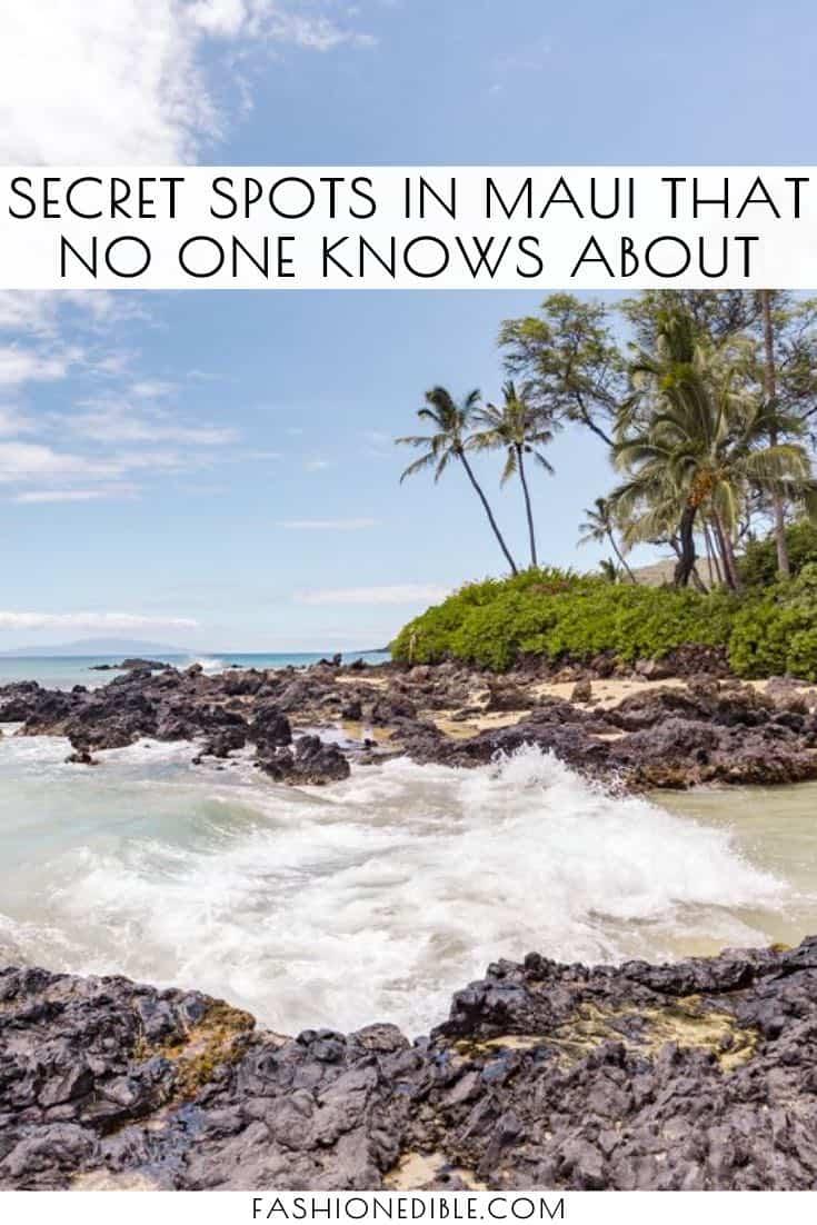 maui destinations you've never heard of | secret places on maui | best spots to visit in maui