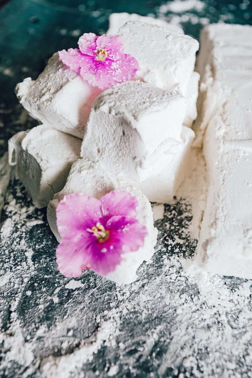 homemade marshmallows recipe | how to make marshmallows