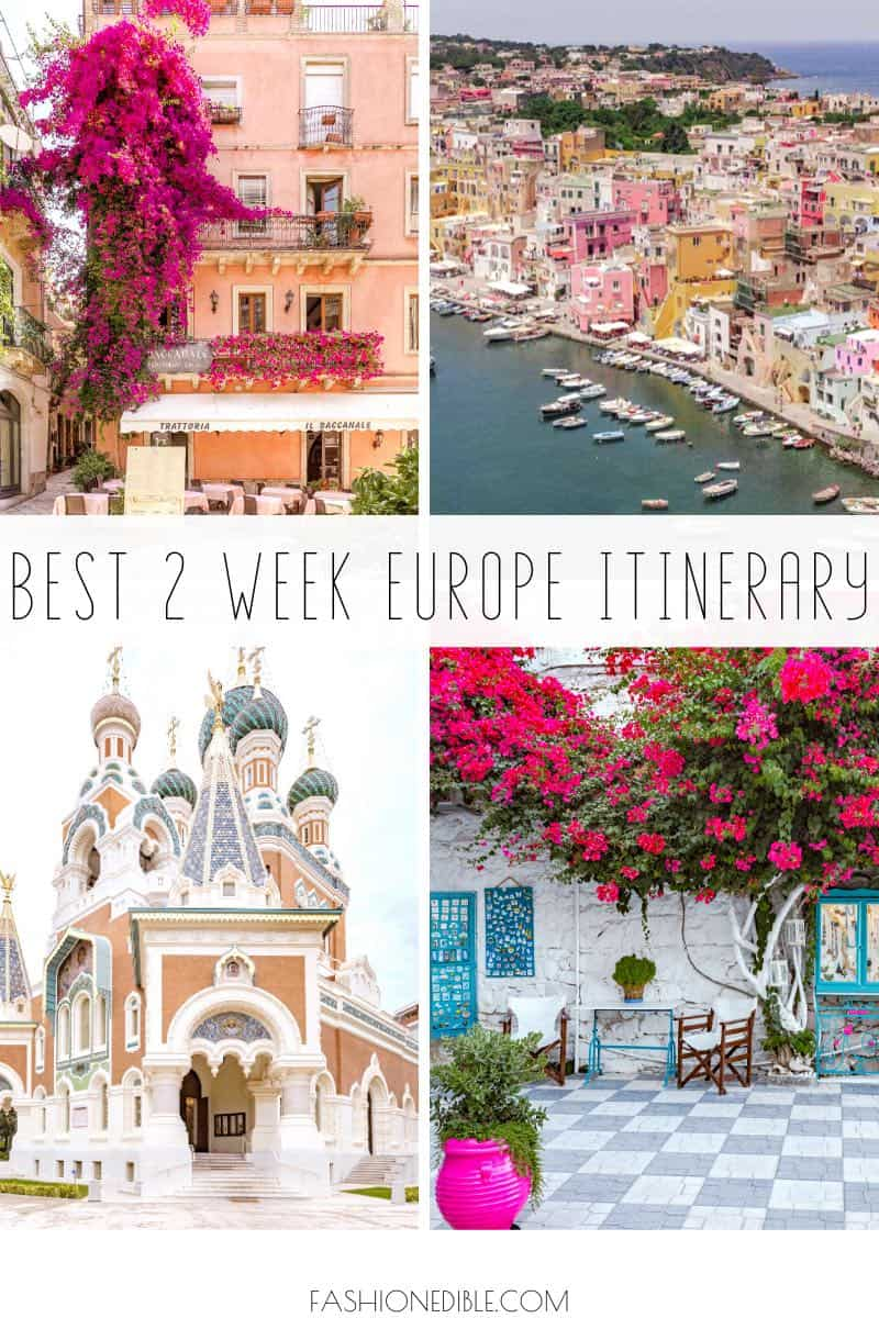 best europe itinerary | best countries in europe | what to do in europe for 2 weeks | 2 week europe itinerary