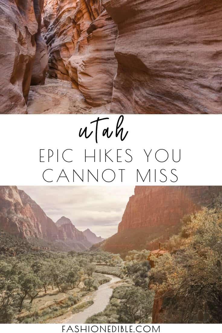10 best Utah hikes | Utah hiking | which hikes to take in Utah | where to hike in Utah |