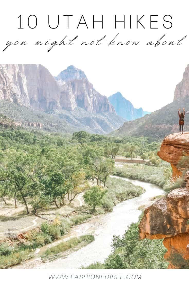 10 best Utah hikes   Utah hiking   which hikes to take in Utah   where to hike in Utah  