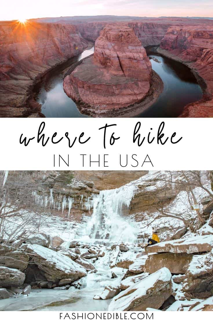 usa hikes | best usa hikes | hiking in the USA | hiking trails in the usa | where to go hiking in the usa