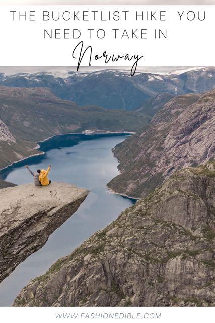 tips for hiking Trolltunga | Trolltunga Hike | Trolltunga Norway hike | how to hike Trolltunga | hiking the Trolls Tongue in Norway | Trolls Tongue Norway hike